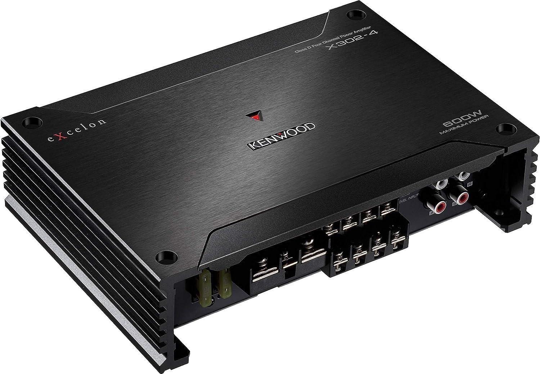 Kenwood Excelon X302-4 Class D Mono 4-Channel Power Amplifier
