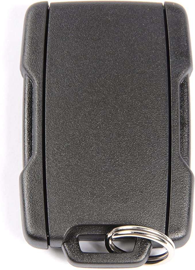 4 Button GM Remote M3N32337100 22881480 Black Sides with no Logo
