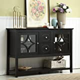 """Mixcept 52"""" Stylish Practical Sideboard Buffet Cabinet Wood Console Table Storage Cabinet with 2 Doors and 2 Drawers…"""