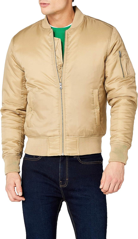 Urban Classics Basic Bomber Jacket Hombre