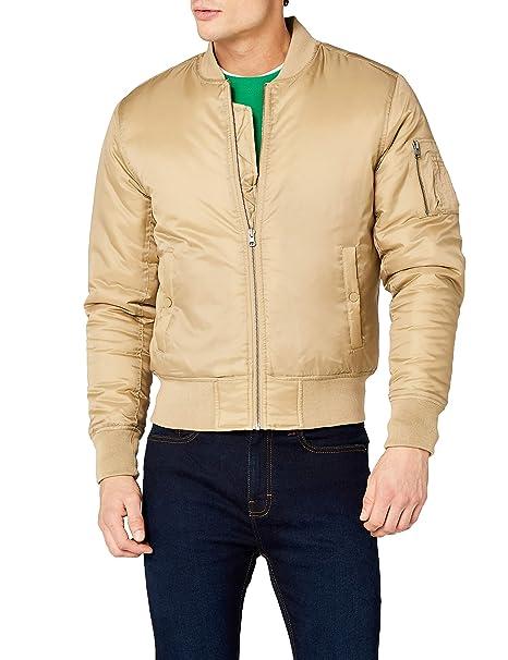 Amazon it Giacca Classics Bomber Urban Basic Jacket Uomo HSqz0AY