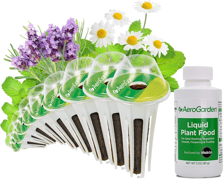 AeroGarden Fresh Tea 9 Seed Pod Kit