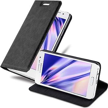 Cadorabo Funda Libro para Samsung Galaxy A3 2015 en Negro ...