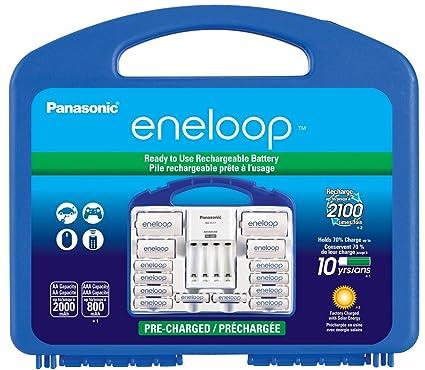 Amazon.com: Panasonic eneloop Power Pack ciclo de 2100 W/8 X ...