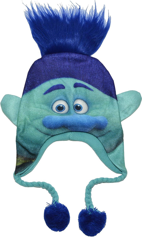 Trolls Blue Branch Beanie Cap New 141763 Laplander Beanie Cap