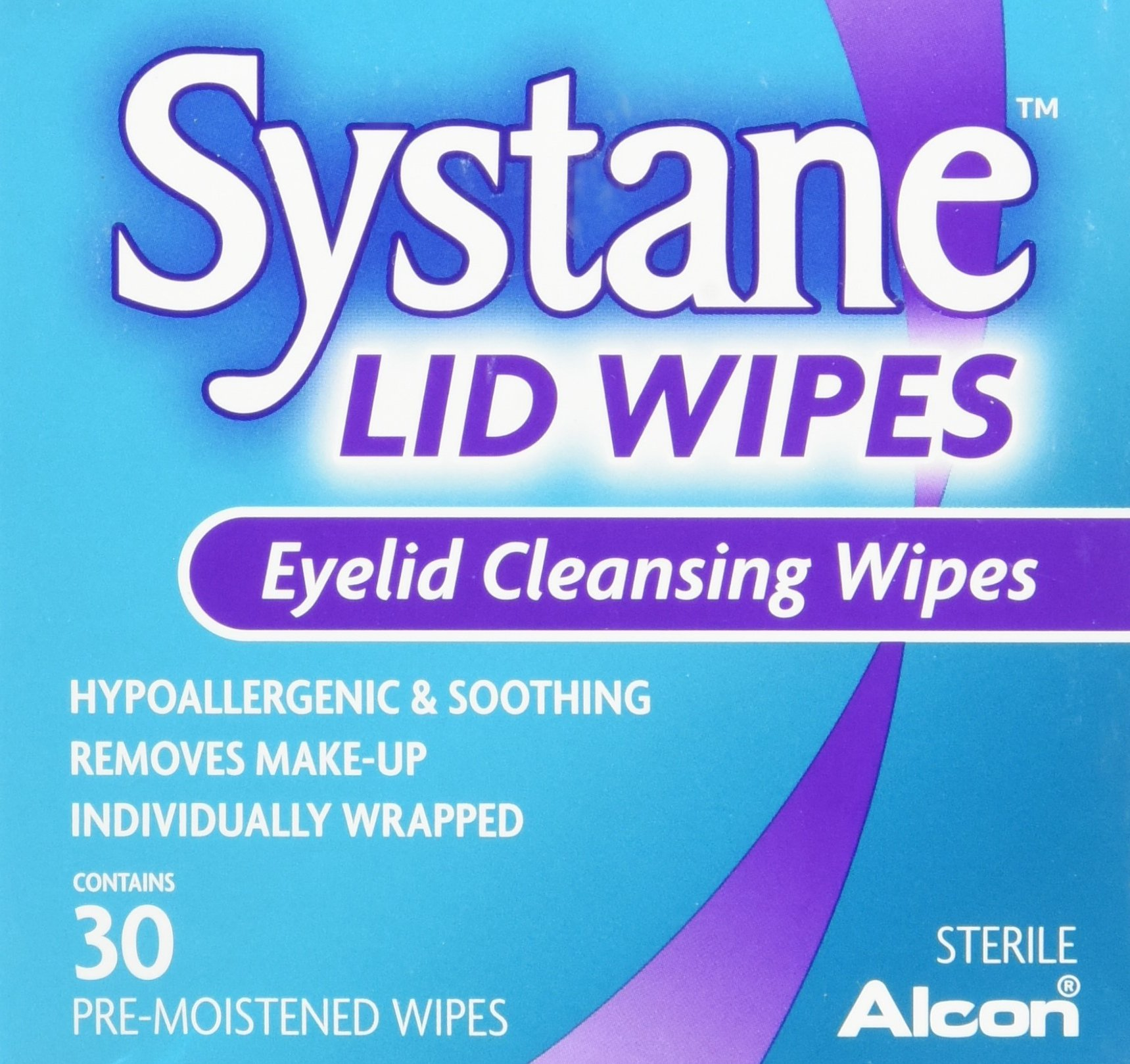 Systane Eyelid Cleansing Wipes, 30 Count (4 Pack)