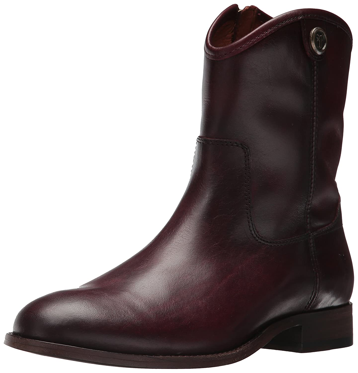 FRYE Women's Melissa Button Short 2 Boot B06X14LKN9 7 B(M) US|Wine