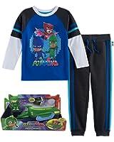 PJ Mask Layer Tee and Jogger Pants with Gekko Mobile Bundle