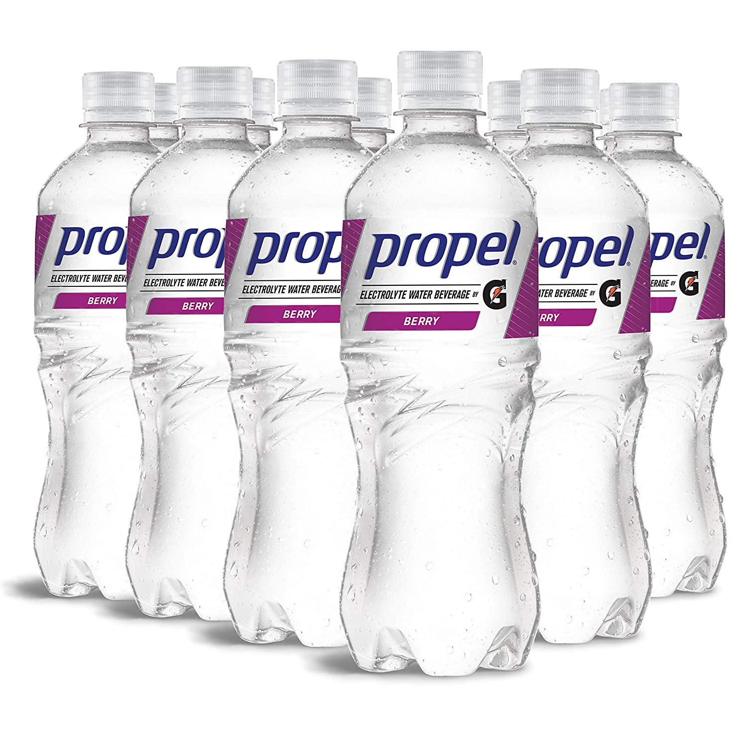 Propel, Berry, Zero Calorie Sports Drinking Water with Electrolytes and Vitamins C&E, 16.9 Fl Oz (12 Count)