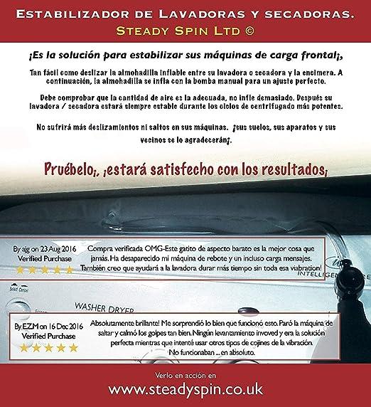 Steady Spin Estabilizador antivibraciones para Lavadora: Amazon.es ...