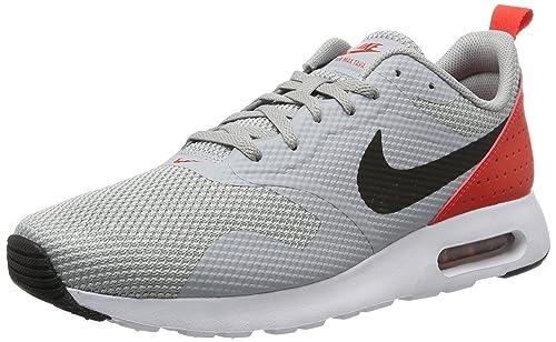 bb1c55a5fd313 Nike Men s Air Max Tavas Wolf Grey Black Max Orange Running Shoe 7 ...