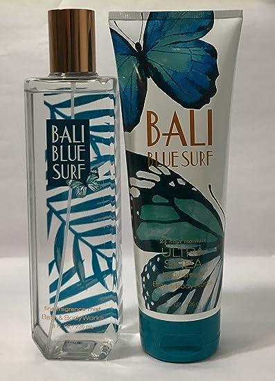 Amazon com : Bath & Body Works Bali Blue Surf Body Mist 8 FL OZ