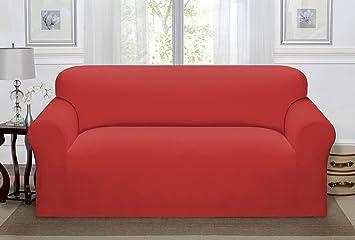 Charmant Madison PIQ SOFA PA Stretch Pique Sofa Slipcover Stretch Pique Paprika,Sofa