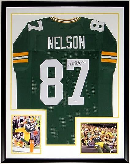 timeless design 17f18 bf598 Jordy Nelson Signed Green Bay Packers Jersey - JSA COA ...