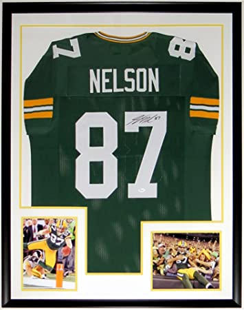Jordy Nelson Signed Green Bay Packers Jersey - JSA COA Authenticated ...