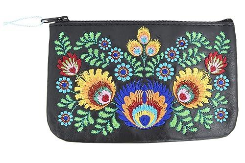 Amazon.com: Lavishy Bohemia Colorido flor Arreglo bordado ...