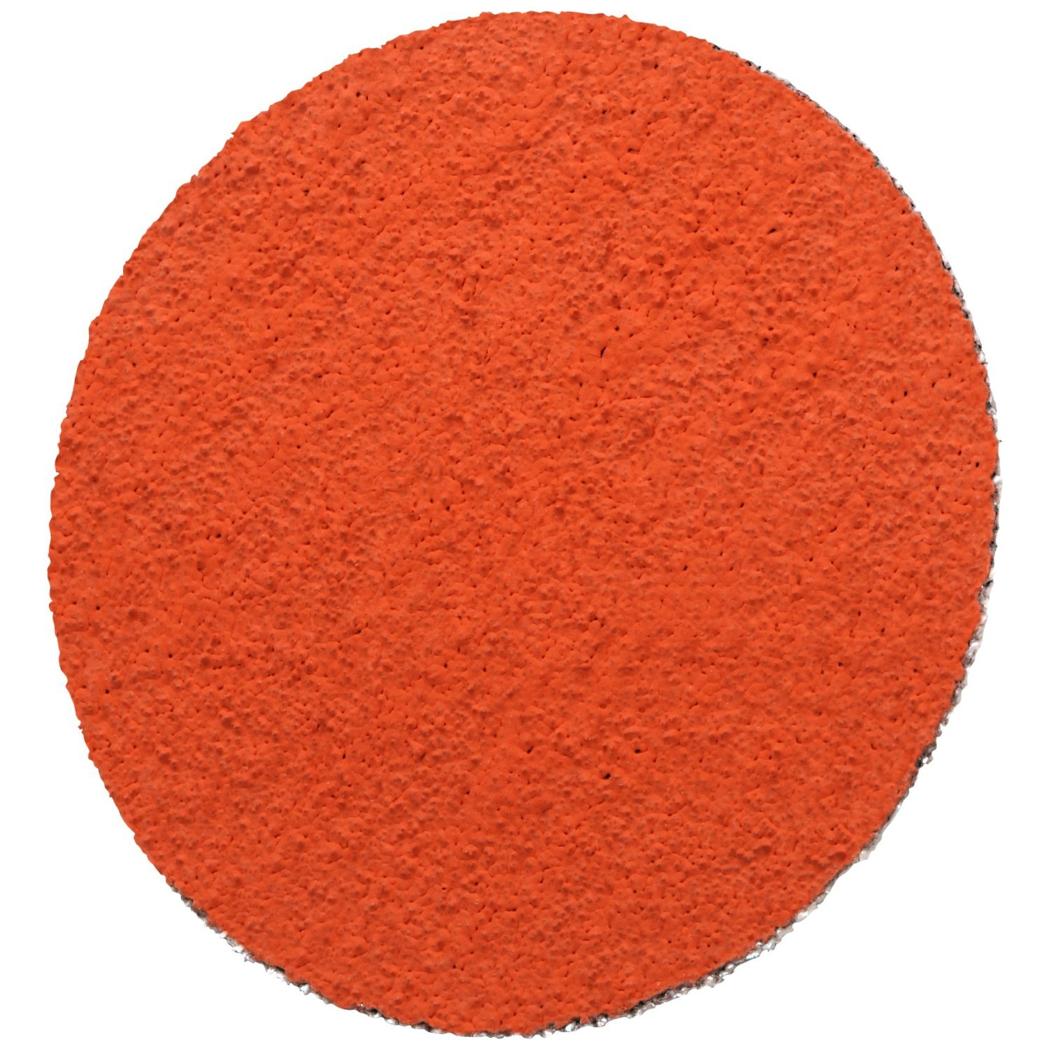 3M PSA Cloth Disc 777F, Ceramic Aluminum Oxide, 12'' Diameter, 60 Grit (Pack of 10)