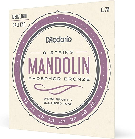 D'Addario EJ70 Phosphor Bronze Mandolin Strings