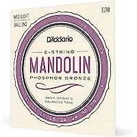 D'Addario EJ70, cuerdas de bronce fosforado para mandolina
