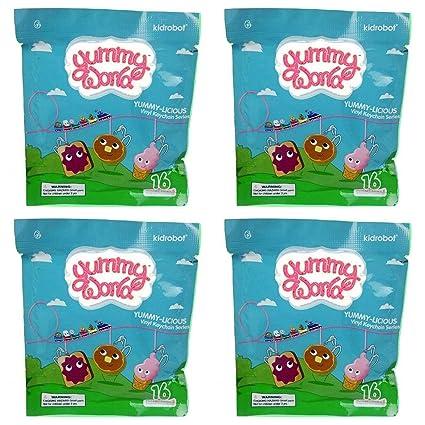 Amazon.com: KIDROBOT Yummy World Yummy-Licious - Llavero de ...
