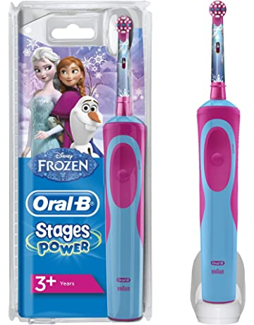 Oral-B Stages Power Kids Cepillo de Dientes Eléctrico con los Personajes de Frozen