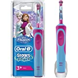 Oral-B Stages Power Kids Cepillo de dientes eléctrico, diseño Frozen