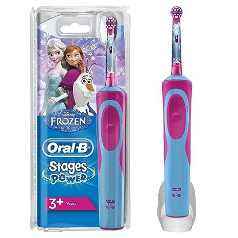 Oral-B Stages Power Kids Cepillo de Dientes Eléctrico con los Personajes de  Frozen 19939779729c