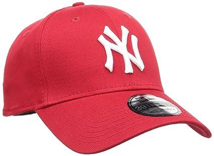 Amazon.com   New Era 39Thirty Flexfit Cap - NY YANKEES red   white ... 135b21d14a0