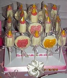 Amazon Com Elephant Lollipop Chocolate Candy Mold 697
