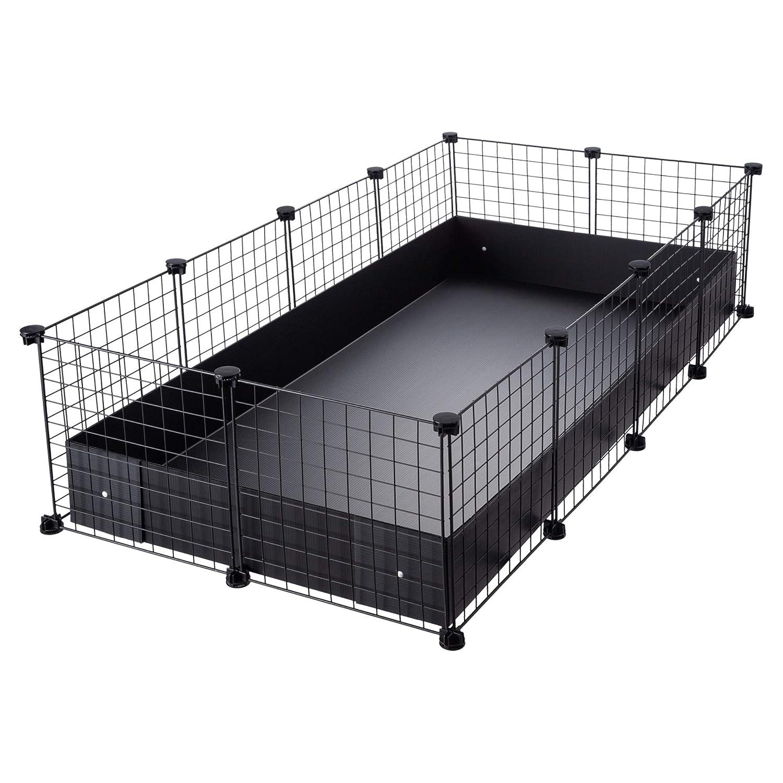 CagesCubes - Jaula CyC Grande (2X4 Paneles en Blanco) + Base de ...