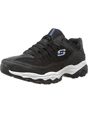 5a8ca4fba Skechers Men s Afterburn Memory-Foam Lace-up Sneaker