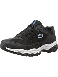 new product a059a 61dc3 Skechers Mens Afterburn Memory-Foam Lace-up Sneaker