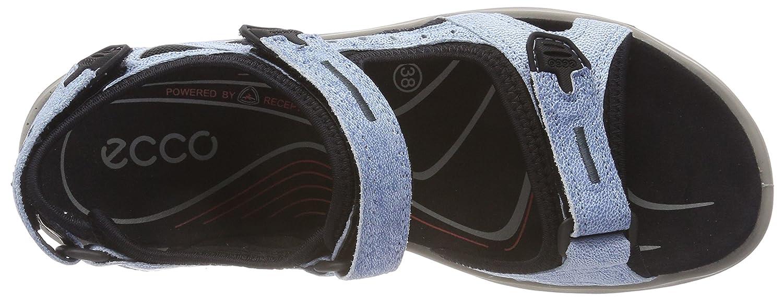 ECCO Women's Yucatan Sandal B076ZYVR84 41 EU/10-10.5 M US|Indigo