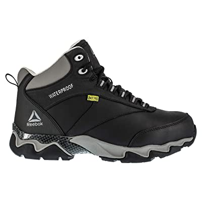 Reebok Work Men's Beamer RB1067 Composite-Toe Met Guard Hiker Boot | Industrial & Construction Boots