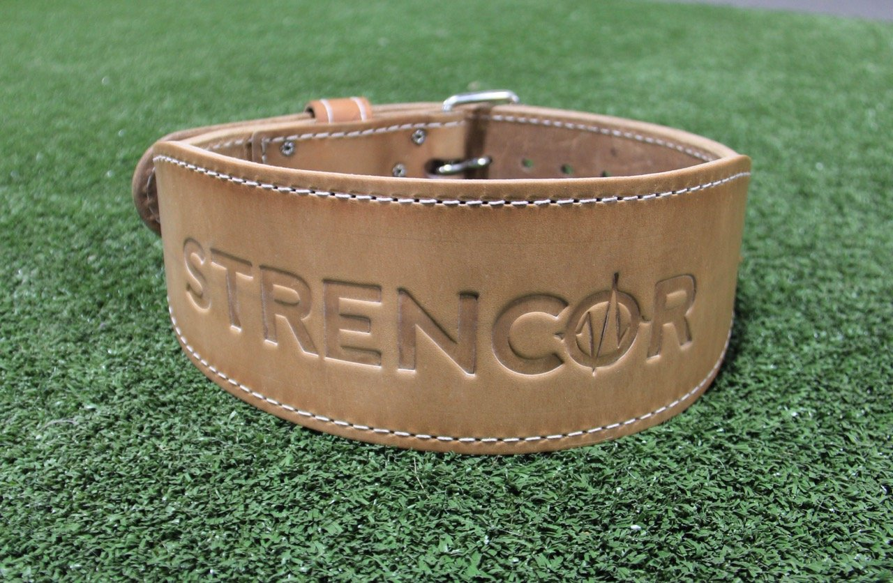 Strencor Leather Power Lifting Belt- Size Large by Strencor Fitness (Image #2)