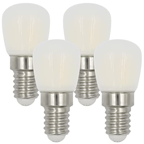MENGS® Pack de 4 Bombillas LED Lampe E14 3W AC 220-240V ...