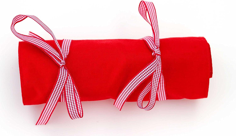 Estuche homeopatía tela 26 u - color rojo (rojo): Amazon.es: Salud y cuidado personal