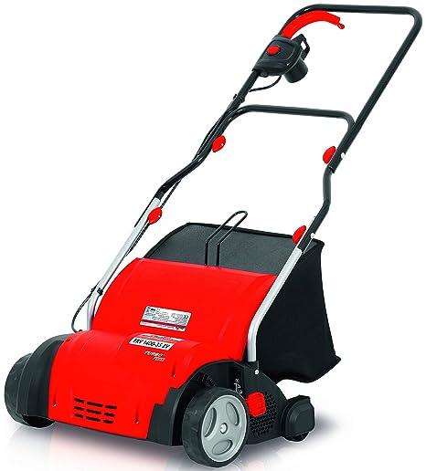 Grizzly Elektro Vertikutierer ERV 1400 elektrischer Rasenvertikutierer Rasenlüfter zur Gartenpflege 1400 Watt 35 cm Arbeitsbr