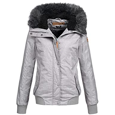 Eight2Nine Damen Winter Jacke Winterjacke Parka Outdoor warm 44278 S XL 2 Farben