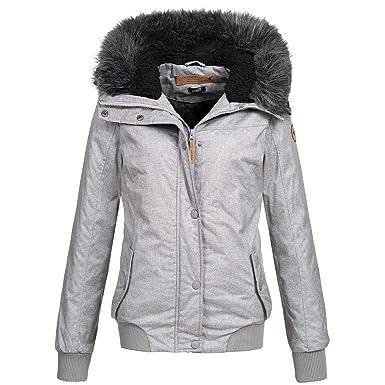cdfc1a878712b5 Eight2Nine Damen Winter Jacke Winterjacke Parka Outdoor warm 44278 S-XL  2-Farben: Amazon.de: Bekleidung