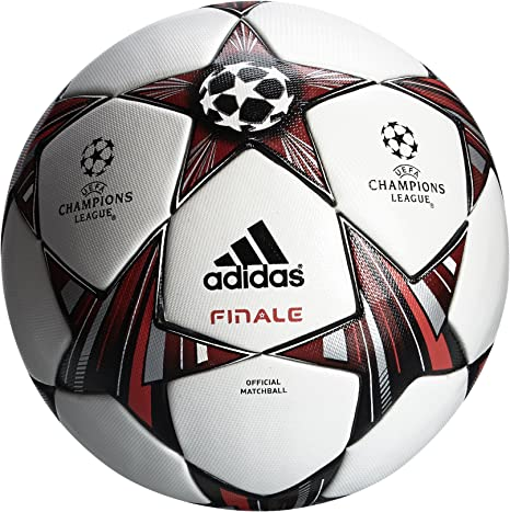 adidas Men's Finale 13 Official Match Ball - White/Black/Metallic ...