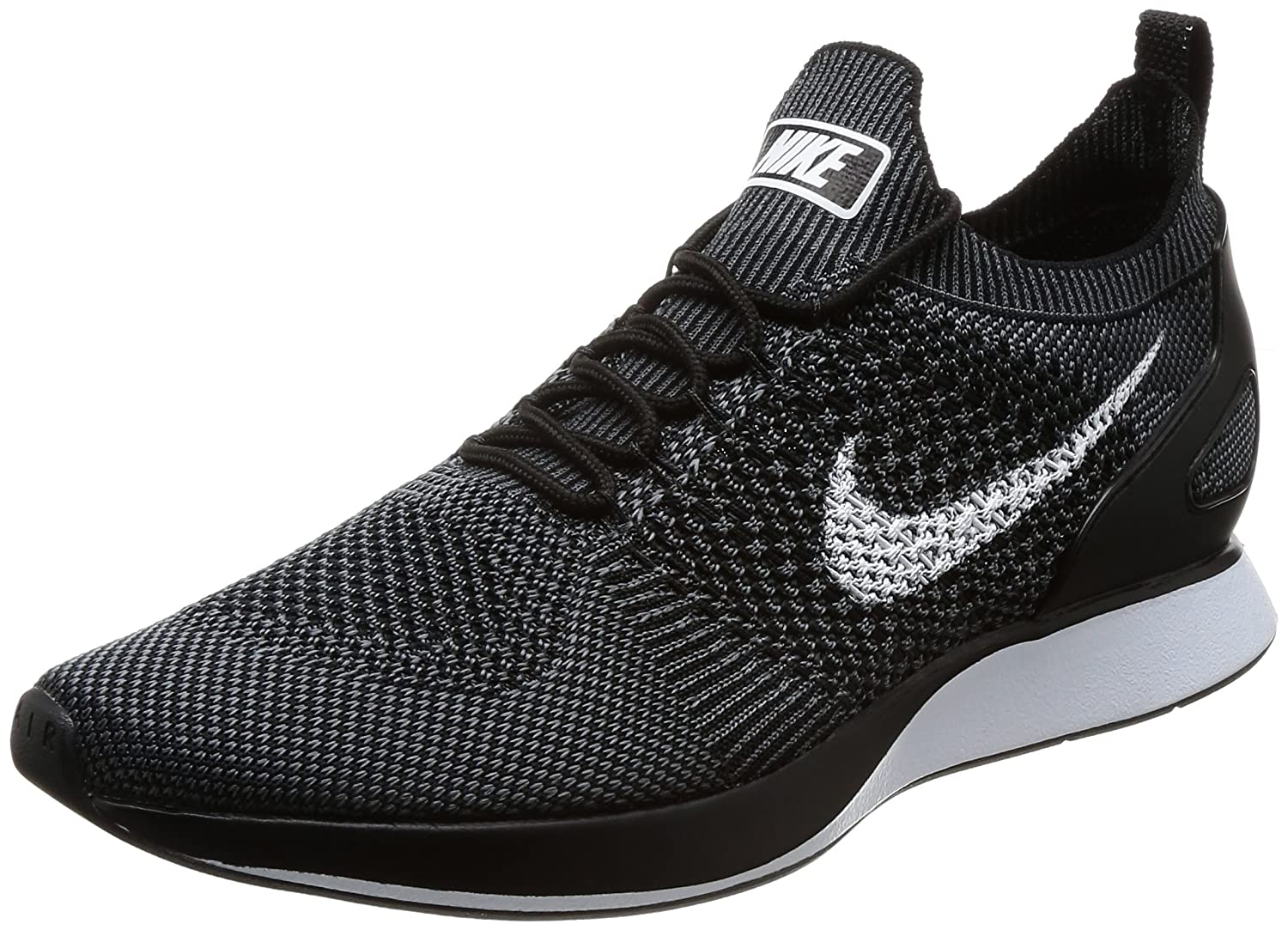 Nike Women's Free Rn Flyknit 2017 Running Shoes B00IQ25U5Y Large|Black White Dark Grey 001