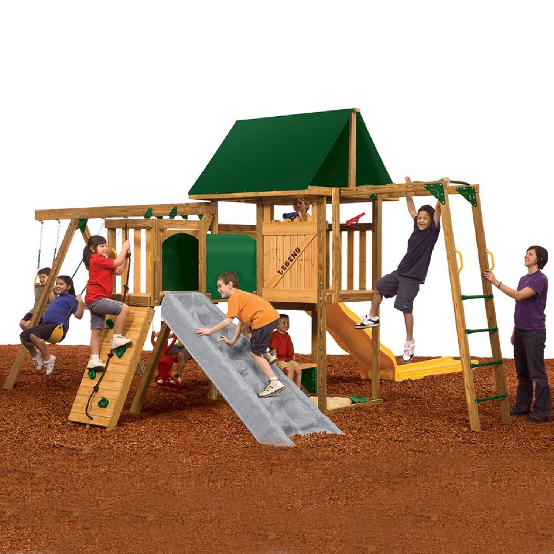 amazon com playstar gold legend playground equipment toys u0026 games