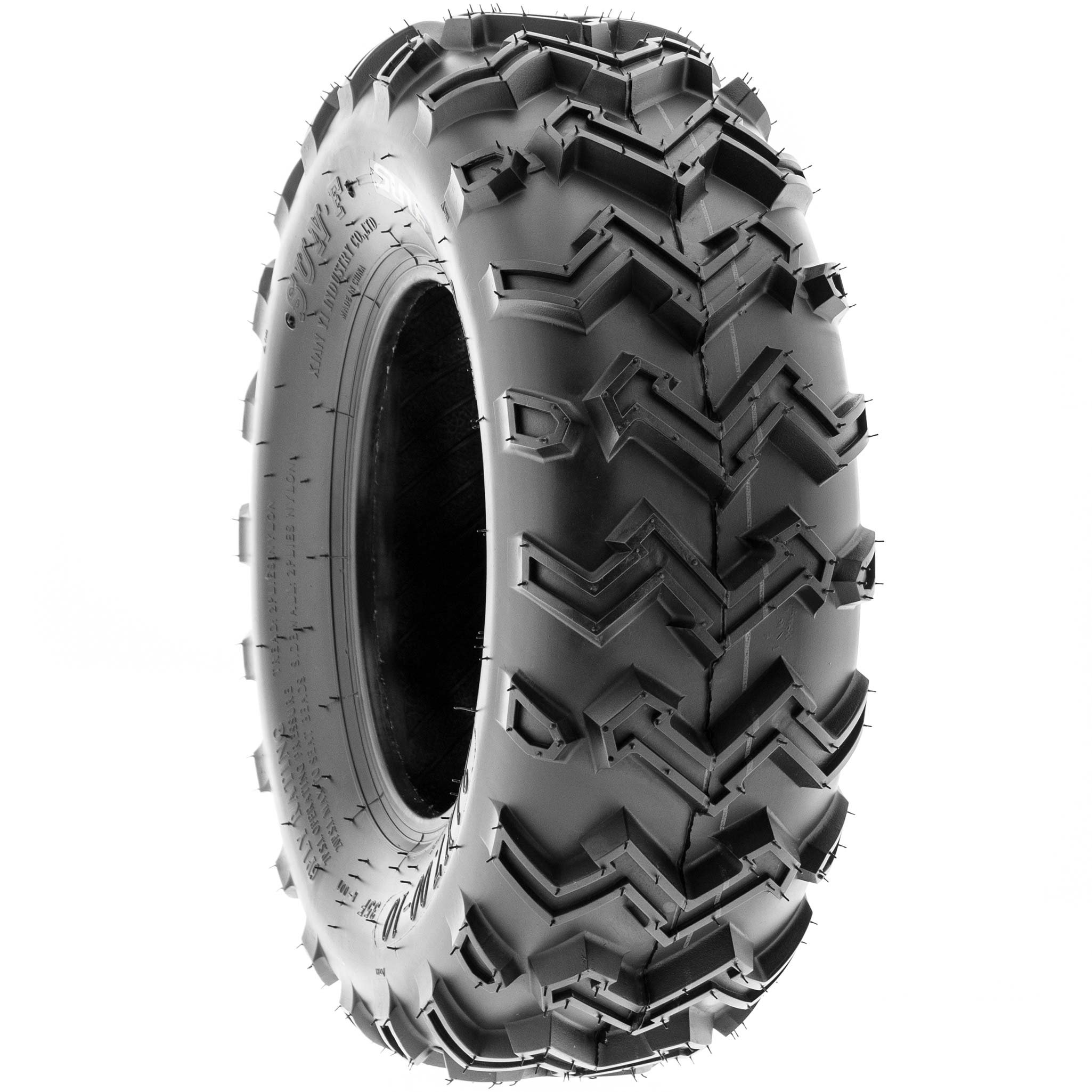 SunF 21x7-10 21x7x10 ATV UTV All Terrain Race Replacement 6 PR Tubeless Tires A001, [Set of 2] by SunF (Image #6)