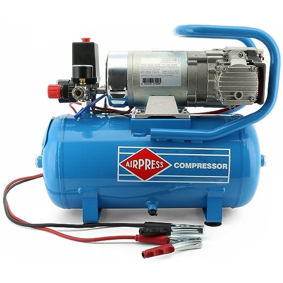 Compresor 0,7 PS/15 l/10 BAR/24 V, tipo DC24 - 225/15: Amazon.es: Bricolaje y herramientas