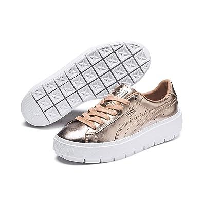 Puma Basket Platform Trace Luxe Damen Sneaker