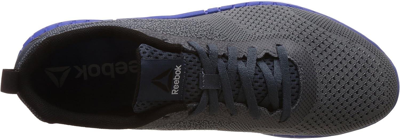 Reebok Print Run Prime Ultraknit, Chaussures de Running Compétition Homme Gris Asteroid Dust Smoky Indigo White Black Vital Blue