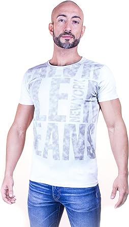 Calvin Klein_ camiseta hombre blanca (l): Amazon.es: Ropa y accesorios