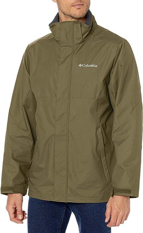 Columbia Men/'s Element Blocker Interchange GREEN 3 In 1 Jacket Size M