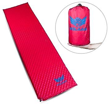 Colchón aislante / colchón de aire de polaar, 180 cm de largo, autoinflable -